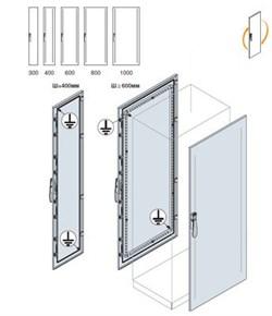Дверь передняя/задняя 2000x1000мм ВхШ - фото 131632