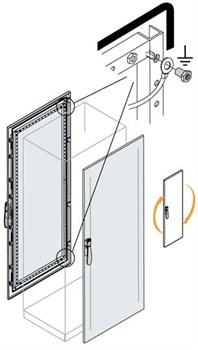 Дверь передняя/задняя 2000x800мм ВхШ - фото 131647