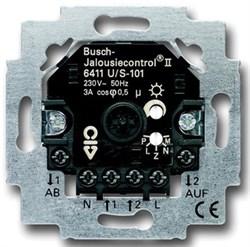 Busch Jaeger - ABB 6411 U/S-101 Выключатель освещения Busch-Blind Control II - фото 9530