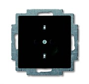Розетка SCHUKO 16А 250В, серия Basic 55, цвет ch?teau-black