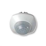 Датчик присутствия Zenit, ИК, потолочный, 360 град., 1200 Вт, с дополнительным сухим контактом на 2А, цвет белый