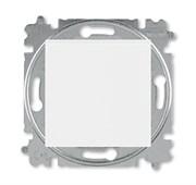 Переключатель перекрёстный одноклавишный ABB Levit белый / белый