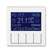 Терморегулятор ABB Levit универсальный программируемый белый / белый