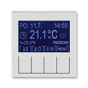 Терморегулятор ABB Levit универсальный программируемый серый / белый