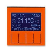 Терморегулятор ABB Levit универсальный программируемый оранжевый / дымчатый чёрный