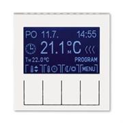 Терморегулятор ABB Levit универсальный программируемый жемчуг / ледяной