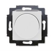 Светорегулятор ABB Levit поворотно-нажимной 60-600 Вт R серый / белый