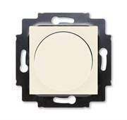 Светорегулятор ABB Levit поворотно-нажимной 60-600 Вт R слоновая кость / белый