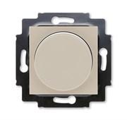 Светорегулятор ABB Levit поворотно-нажимной 60-600 Вт R кофе макиато / белый