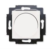 Светорегулятор ABB Levit поворотно-нажимной 60-600 Вт R жемчуг / ледяной