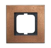 Рамка 1-постовая, серия Carat, бронза