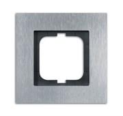 Рамка 1-постовая, серия Carat, сталь