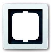 Рамка 1-постовая, серия solo/future, цвет альпийский белый