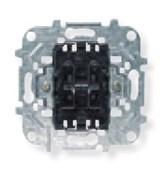 Механизм 2-клавишной кнопки с нормально-открытым контактом, 10А/250В