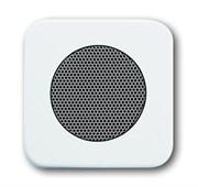 Плата центральная (накладка) для громкоговорителя 8223 U, серия Reflex SI, цвет альпийский белый