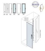 Створка двойной двери 1800x500м ВхШ
