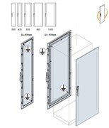 Дверь передняя/задняя 2000x400мм ВхШ