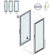 Дверь со стеклом 1800x600мм ВхШ