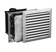 Вентилятор с решеткой 105х105 мм