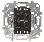 Механизм 2-клавишного выключателя, 10А/250В