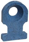 Основание монтажное, обнаруж., винт, ПА 66, синий, 19.1х12.7мм, 4.8мм, TC5102-NDT