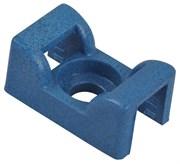 Основание монт. обнаруж., седловидное, винт, РР, синий, 17х11.1мм, 4.8мм, TC5141-PDT
