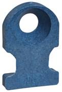 Основание монтажное, обнаруж., винт, РР, синий, 19.1х12.7мм, 4.8мм, TC102-PDT
