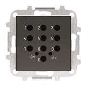 Накладка для механизма электронного выключателя с кодовой клавиатурой 8153.5, серия SKY, цвет чёрный барх.