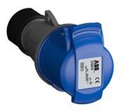 Розетка кабельная Easy&Safe 216EC6,16А,2P+E,IP44,6ч