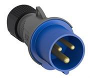 Вилка кабельная Easy&Safe 216EP6,16А,2P+E,IP44,6ч