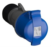 Розетка кабельная Easy&Safe 232EC6,32А,2P+E,IP44,6ч