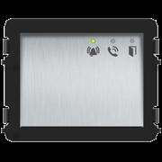 Аудио модуль, серебристый, с поддержкой голосовых сообщений