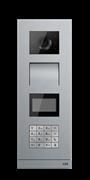 Станция вызова, видео, с клавиатурой, со считывателем IC (Mifare, 13,56МГц)