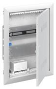 Шкаф мультимедийный с дверью с вентиляционными отверстиями и DIN-рейкой UK620MV (2 ряда)