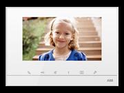 Абонентское устройство, видео 7, сенсорный экран, белый глянцевый