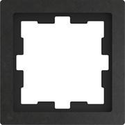 MERTEN D-Life РАМКА 1-постовая, БАЗАЛЬТ