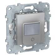 UNICA NEW датчик движения с выключателем, 10А, алюминий