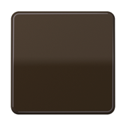 Jung CD 500/CD plus клавиша для выключателя и кнопки; коричневая CD590BR