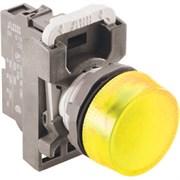 Корпус сигнальной лампы ML1-100Y желтый