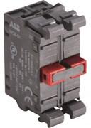 Блок контактный MCB-02 фронтального монтажа 2НЗ