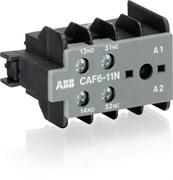 Блок контактный CAF6-11E (1НО+1НЗ) фронтальный для мини-контакторов K6, В6, В7