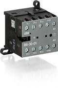 Мини-контактор B6-40-00-80 (9A при AC-3 400В), катушка 230В АС, с винтовыми клеммами