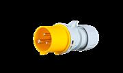 Вилка кабельная 2Р+Е 16А 110В IP44