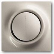 Клавиша для механизма 2-клавишных выключателей/переключателей/кнопок, серия impuls, цвет шампань-металлик