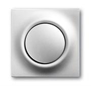Клавиша для механизма 1-клавишного выключателя/переключателя/кнопки, серия impuls, цвет серебристый металлик