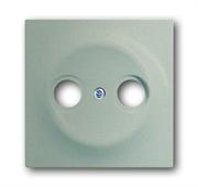 Накладка (центральная плата) для TV-R розетки, серия impuls, цвет шампань-металлик