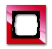 Рамка 1-постовая, серия axcent, цвет красный