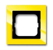 Рамка 1-постовая, серия axcent, цвет жёлтый
